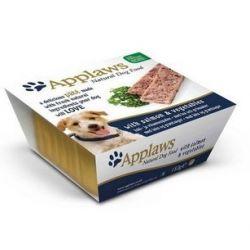 Applaws Pasztet dla psa - łosoś i warzywa tacka 150g