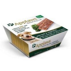 Applaws Pasztet dla psa - wołowina i warzywa tacka 150g