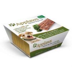 Applaws Pasztet dla psa - jagnięcina i warzywa tacka 150g