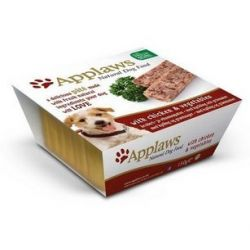Applaws Pasztet dla psa - kurczak i warzywa tacka 150g