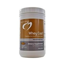 Designs For Health, Whey Cool, Proprietary Non-Denatured Whey Protein, Natural Vanilla Flavor, 2 lbs (900 g)