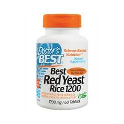 Doctor's Best, Best Red Yeast Rice, 1200 mg, 60 Tablets