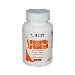 Dr. Mercola, Premium Supplements, Curcumin Advanced, 500 mg, 30 Capsules