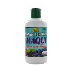 Dynamic Health  Laboratories, Organic, Maqui, Aristotelia Chilensis Juice Blend, 33.8 fl oz (1 Liter)
