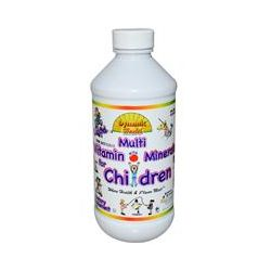 Dynamic Health  Laboratories, Liquid Multi Vitamin with Minerals for Children, Fruit Punch Flavor, 8 fl oz (237 ml)