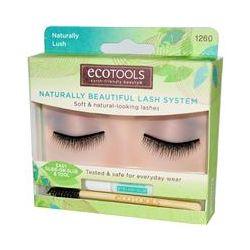 EcoTools, Naturally Beautiful Lash System, Naturally Lush, 1 Pair of Lashes