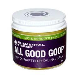 Elemental Herbs, All Good Goop, Handcrafted Healing Balm, 2 oz