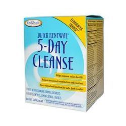 Enzymatic Therapy, Quick Renewal, 5 Day Cleanse, 2 Part Program