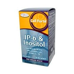 Enzymatic Therapy, Cell Forte, IP-6 & Inositol, 120 Veggie Caps