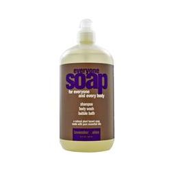 EO Products, Everyone Soap, Shampoo, Body Wash and Bubble Bath, Lavender + Aloe, 32 fl oz (960 ml)