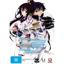Infinite Stratos Series Collection on DVD.