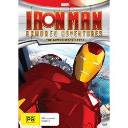 Iron Man Armoured Adventures on DVD.