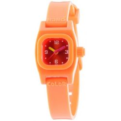 Baby Watch Mädchen-Armbanduhr Analog Plastik orange Nano color orange