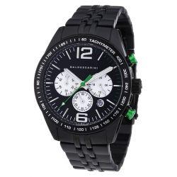 Baldessarini Herren-Armbanduhr XL BOS Chronograph Quarz Edelstahl Y8053W/20/00