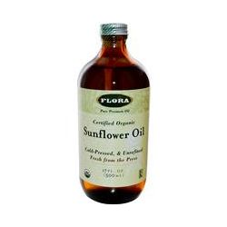 Flora, Certified Organic Sunflower Oil, 17 fl oz (500 ml)
