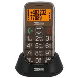 Telefon GSM dla seniora z głosowym wybieraniem numeru MM460