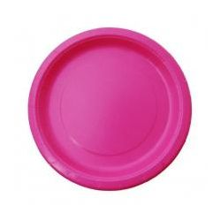 Talerzyki Hot Pink (8 szt.)