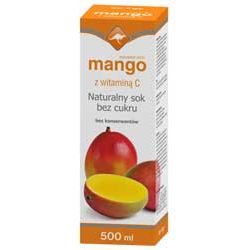 Zdrowie ze znakiem kangura naturalny sok z owoców mango z witaminą C