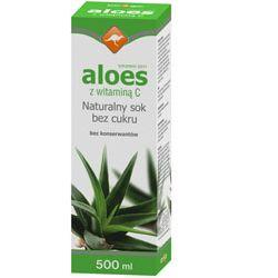 Zdrowie ze znakiem kangura naturalny sok z aloesu z witaminą C