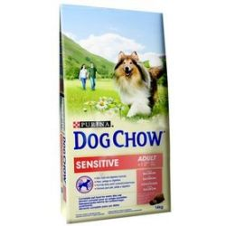 Purina Dog Chow Adult Sensitive Łosoś 14kg