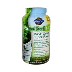 Garden of Life, Perfect Food Raw, Raw Green Super Food, 240 UltraZorbe Vegan Capsules