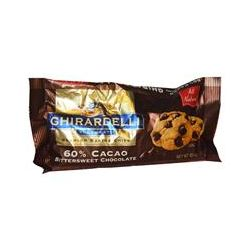 Ghirardelli, 60% Cocoa Bittersweet Chocolate Baking Chips, 10 oz (283 g)