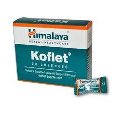 Himalaya Herbal Healthcare, Koflet, 20 Lozenges