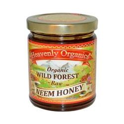 Heavenly Organics, Organic Wild Forest Raw Neem Honey, 12 oz (340 g)