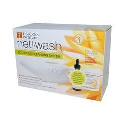 Himalayan Institute, Neti Wash, Eco Sinus Cleansing System, Starter Kit, 3 Piece Kit