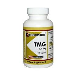 Kirkman Labs, TMG (Trimethylglycine), 500 mg, 120 Capsules