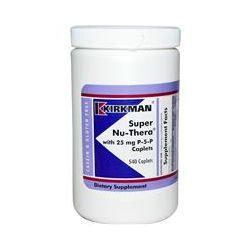 Kirkman Labs, Super Nu-Thera with 25 mg P-5-P Caplets, 540 Caplets