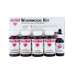 Kroeger Herb Co, Wormwood Kit, 5 Bottles