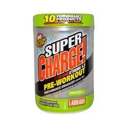 Labrada Nutrition, Super Charge! Xtreme 4.0, Pre-Workout, Lemon-Lime, 1.76 lbs (800 g)