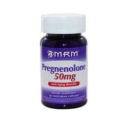 MRM, Pregnenolone, 50 mg, 60 Veggie Caps