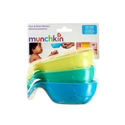 Munchkin, Pour & Strain Whales, 3 Piece