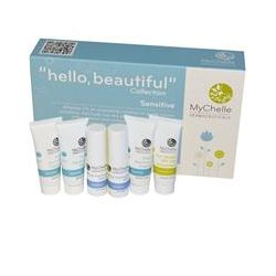 """MyChelle Dermaceuticals, """"Hello, Beautiful"""" Collection, Sensitive Sample Kit, 6 Piece Kit"""