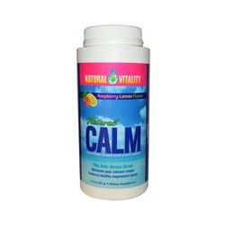 Natural Vitality, Natural Calm, The Anti-Stress Drink, Organic Raspberry-Lemon Flavor, 16 oz (453 g)