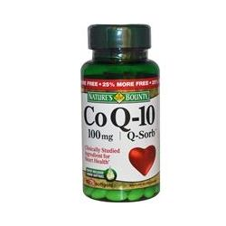 Nature's Bounty, Co Q-10, Q-Sorb, 100 mg, 75 Softgels