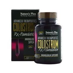 Nature's Plus, Advanced Therapeutics, Colostrum Rx-Foundation, 60 Veggie Caps