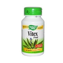 Nature's Way, Vitex Fruit, 400 mg, 100 Capsules