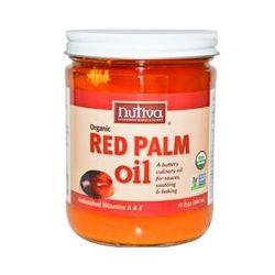 Nutiva, Organic Red Palm Oil, 15 fl oz (444 ml)