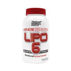Nutrex Research Labs, Lipo 6, Maximum Strength, 240 Liqui-Caps
