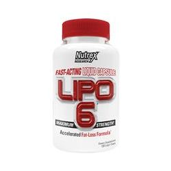 Nutrex Research Labs, Lipo 6, Maximum Strength, 120 Liqui-Caps