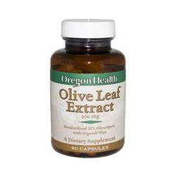 Oregon Health, Olive Leaf Extract, 300 mg, 90 Veggie Caps