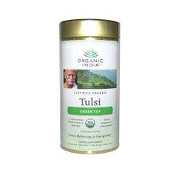 Organic India, Loose Leaf Tulsi Blend, Green Tea, 3.5 oz (100 g)