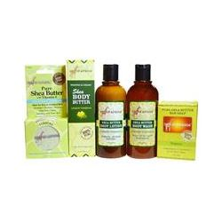 Out of Africa, Shea Butter Body Kit, Lemon Verbena, 4 Pieces with 1 Free 2 oz Shea Better