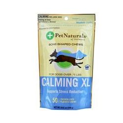 Pet Naturals of Vermont, Calming XL, For Dogs Over 75 lbs, 50 Chicken Liver Flavored Chews, 8.82 oz (250 g)