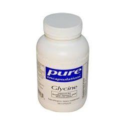 Pure Encapsulations, Glycine, 180 Capsules