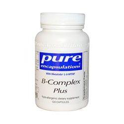 Pure Encapsulations, B-Complex Plus, 120 Capsules