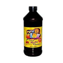 Pure Kidz, Liquid Multi Vitamin, Cherry Flavor, 15.0 fl. (450ml)